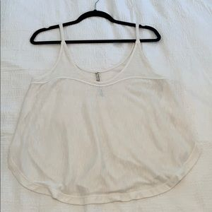 Free People white tank, small